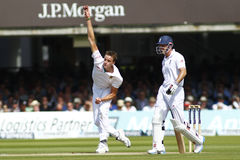 2012 Engeland v 3de de Testgelijke van Zuid-Afrika dag 2 Royalty-vrije Stock Fotografie