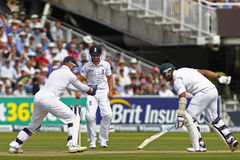 2012 Engeland v 3de de Testgelijke van Zuid-Afrika dag 2 Stock Afbeeldingen