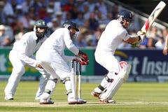 2012 Engeland v 3de de Testgelijke van Zuid-Afrika dag 2 Stock Foto