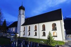 Engelberg abbotskloster i Engelberg Royaltyfria Bilder