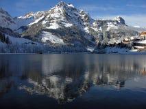 engelberg eugensee szwajcar Zdjęcie Royalty Free