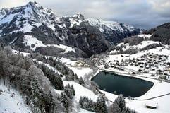 Engelberg Svizzera immagini stock