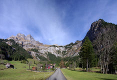 Engelberg Valley Royalty Free Stock Image