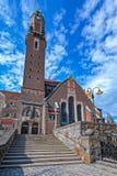 Engelbrekts教会在斯德哥尔摩,瑞典 免版税图库摄影