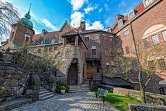 Engelbrekts教会的牧师远征在斯德哥尔摩,瑞典 免版税库存图片