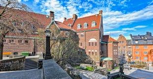 Engelbrekts教会的牧师远征在斯德哥尔摩,瑞典 库存照片
