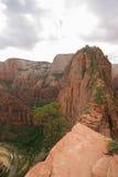 Engelen die Zion National Park landen Royalty-vrije Stock Afbeeldingen