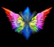 Engelen` s vleugels vector illustratie