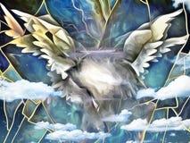 Engelen` s vleugels royalty-vrije illustratie