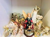 engelen voor huis stock afbeeldingen