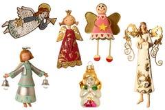 Engelen voor Kerstboom vector illustratie