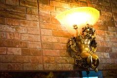 Engelenlamp stock afbeeldingen