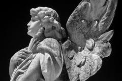 Engelenstandbeeld Stock Foto