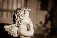 Engelenstandbeeld Royalty-vrije Stock Afbeeldingen