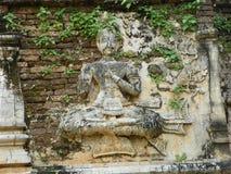 Engelenstandbeeld op een pagode Royalty-vrije Stock Fotografie