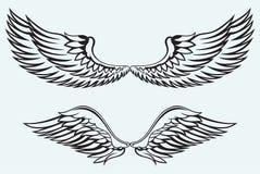 Engelenvleugels stock illustratie