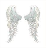 Engelenvleugels Stock Afbeelding