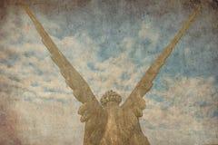 Engelenvleugels in de hemel Royalty-vrije Stock Foto