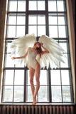 Engelenvrouw stock afbeeldingen