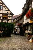 Engelgasse, Gengenbach, Black Forest Germany Stock Images