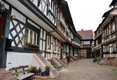 Engelgasse, Gengenbach Royalty Free Stock Image