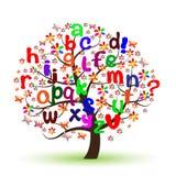 Engels alfabet Stock Fotografie