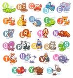 Engels alfabet vector illustratie