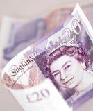 Engels geld Stock Foto's
