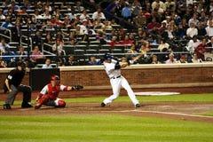 Engels-Heide - Mets Baseball-Spieler stockbild