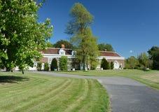 Engels het Landgoedhuis van het Land Stock Afbeeldingen