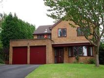 Engels huis Stock Foto