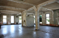 Engels-Insel-Ruine Lizenzfreies Stockfoto
