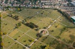 Engels kerkhof Royalty-vrije Stock Afbeeldingen