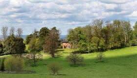 Engels Landelijk Landschap stock foto