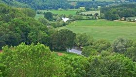 Engels Platteland stock afbeelding