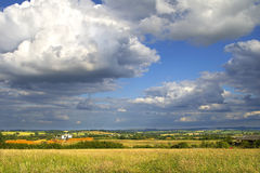 Engels Platteland Royalty-vrije Stock Foto's