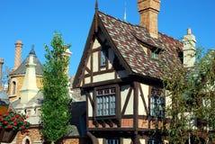 Engels Plattelandshuisje stock afbeeldingen