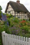 Engels plattelandshuisje Royalty-vrije Stock Foto's