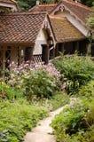 Engels plattelandshuisje Stock Afbeelding