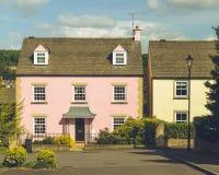 Engels Roze Losgemaakt Huis royalty-vrije stock foto