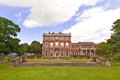 Engels waardig huis Stock Foto