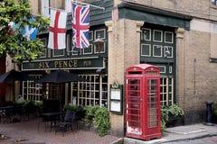 Engelse Bar in Savanne in Georgië de V.S. Stock Fotografie