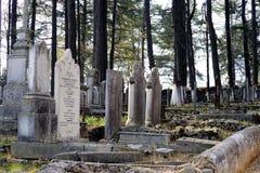 Engelse begraafplaats Stock Afbeelding