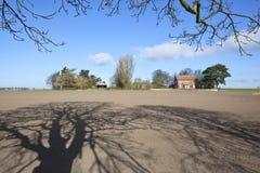 Engelse boerderij Stock Afbeeldingen