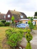 Engelse de plattelandshuisjestuin Kent van het land royalty-vrije stock fotografie