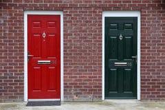 Engelse deuren Royalty-vrije Stock Fotografie
