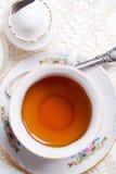 Engelse hoge thee royalty-vrije stock afbeelding