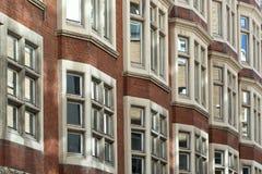 Engelse Huizen Stock Foto's