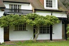 Engelse huizen Royalty-vrije Stock Fotografie
