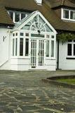 Engelse huizen Royalty-vrije Stock Afbeeldingen